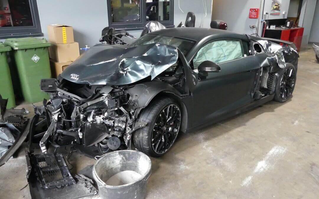Audi R8 Totalschaden